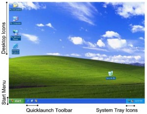 Windows XP GUI